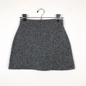 Topshop Skirts - Topshop Black and Gray Mini Skirt